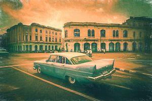 Havana vintage van