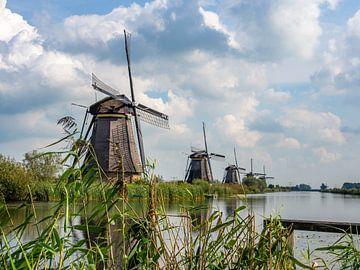 Kinderdijk - Windmühle von Sijmen van der Plicht
