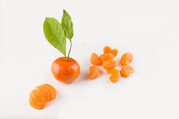 Satsumas, tangerine, mandarin, mandarijn, fruit; orange color, seasonal; healthy; diet; tropical; su van Ans van Heck