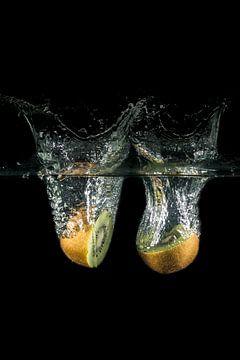 Splash kiwi's von Sandra Tukker