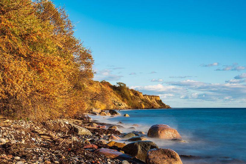 Ostseeküste bei Klintholm Havn in Dänemark sur Rico Ködder
