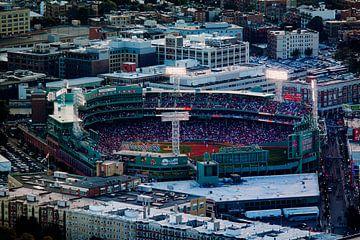 Fenway Park, Red Sox tijdens een wedstrijd van Nynke Altenburg