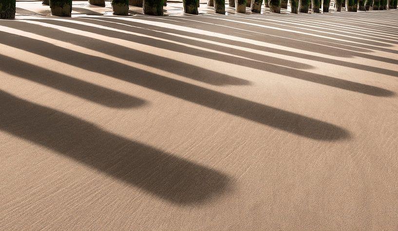 Beach Piano van Adrien Hendrickx