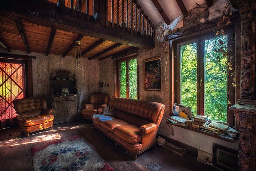 Urbex farm 1881  | Oude verlaten huiskamer  van Steven Dijkshoorn