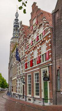 Rapenburg in Leiden von Dirk van Egmond
