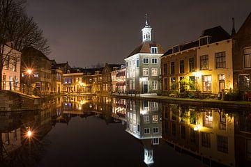 Schiedam in der Nacht von Menno van der Haven
