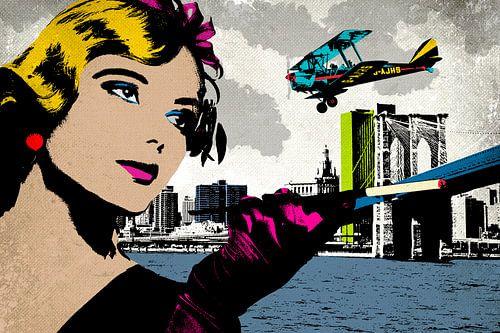 City-Woman von Rob van der Teen
