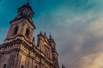 Sonnenuntergang von Bogotá von Koen Boelrijk Photography