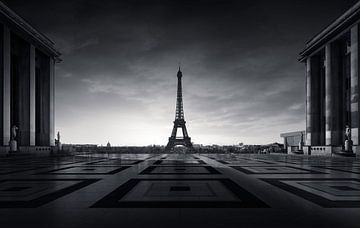 Eiffeltoren Parijs van