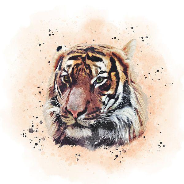 The Tiger von Angela Dölling