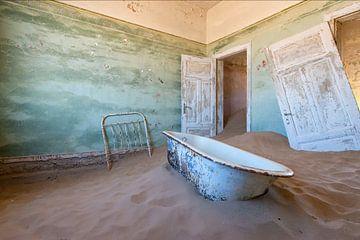la baignoire la plus célèbre de Namibie sur Aline van Weert