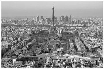 Vue Panoramique de Paris sur Michaelangelo Pix