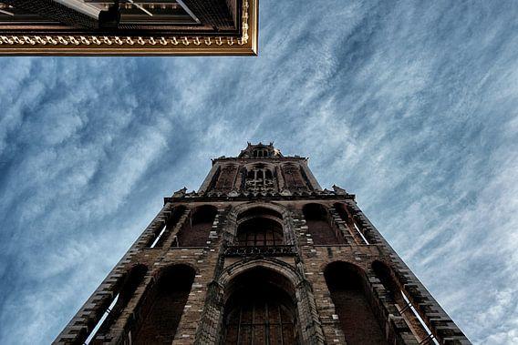 Dominante Domtoren in Utrecht van Patrick van den Hurk