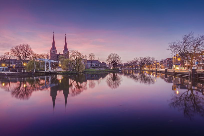 Delft - Oostpoort van Tom Roeleveld