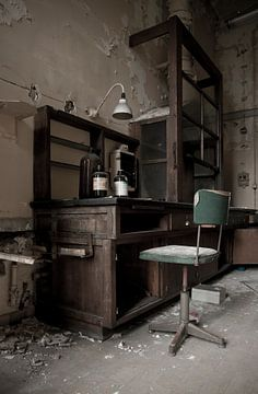 Verlaten Laboratorium sur Anne Sypré