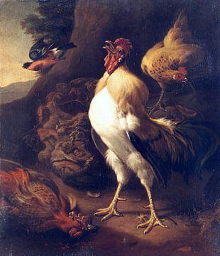 Der stolze Hahn, Melchior d'Hondecoeter