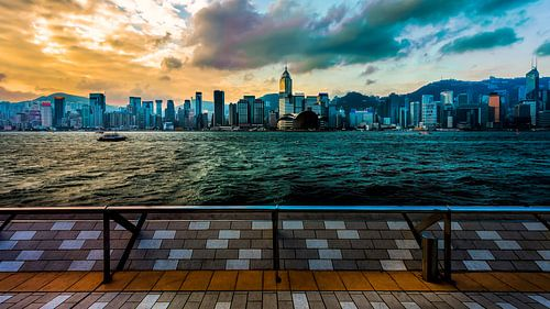 Wat een uitzicht, in Hong Kong von Roy Poots