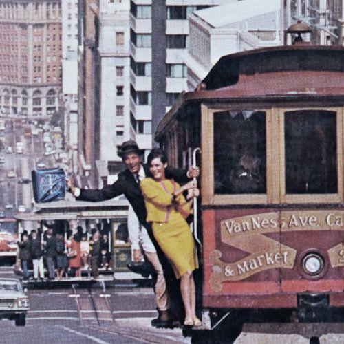 San Francisco Cable Cars van Melanie Rijkers