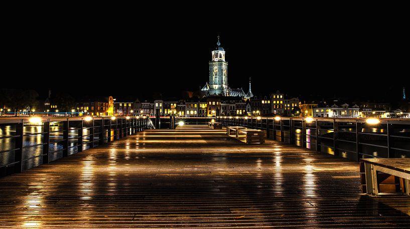 Skyline van Deventer / Skyline of Deventer van Justin Sinner Pictures ( Fotograaf op Texel)