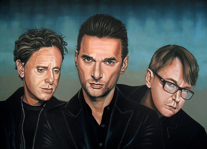 Depeche Mode schilderij von Paul Meijering