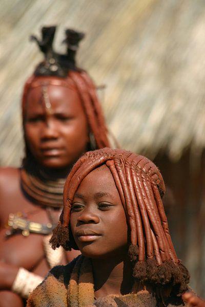 Himba meisjes von Antwan Janssen