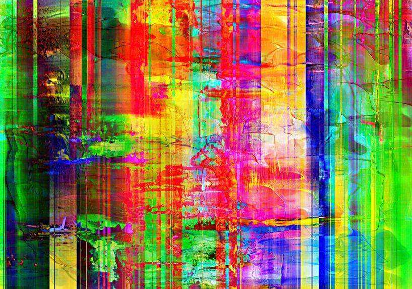 Abstract Liquid eightteen van PictureWork - Digital artist