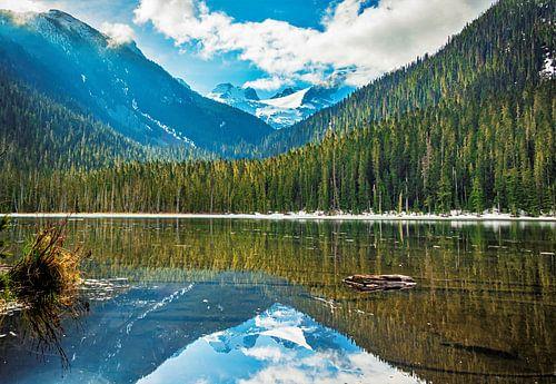 Spiegelbeeld, meer in Canada