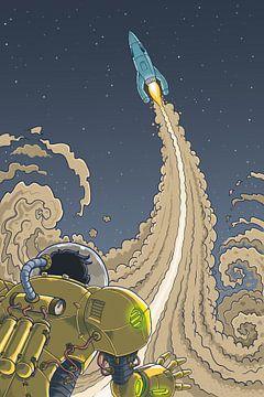 Raketenmann von Erik van Wijk