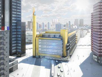 Dudok's Bijenkorf, Rotterdam von Frans Blok