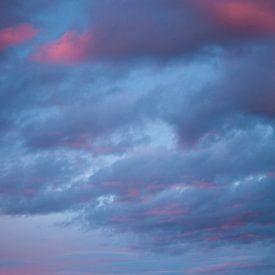 Zonsondergang in Zweden van Margreet Frowijn
