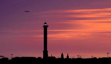 909090646 Skyline von Ostende von Adrien Hendrickx