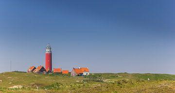 Leuchtturm in den Dünen von Texel von Marc Venema