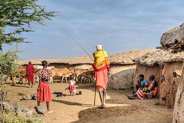 Kenia | White Mountain Movement 11 von Mariëlle de Valk