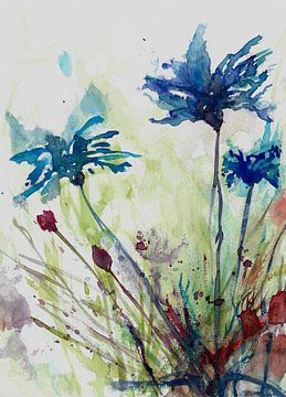 Blumen des Feldes von Angel Estevez