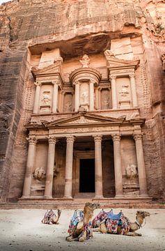 Le trésor public Petra Jordan sur Jelmer Laernoes