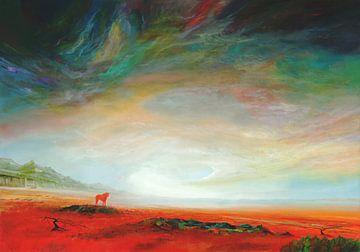 Roter Stier(2) von Silvian Sternhagel