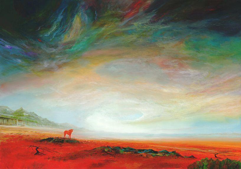 Roter Stier(2) sur Art Demo