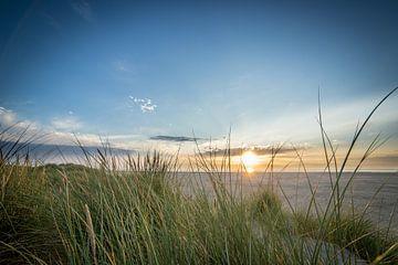 Zonsondergang Texel van