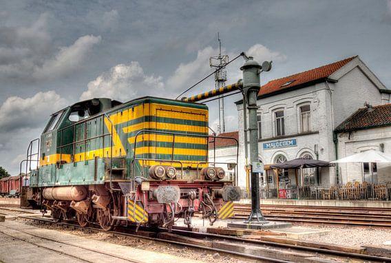 HDR Station Maldegem van W J Kok
