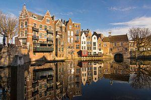 De Aelbrechtskolk in Delfshaven, Rotterdam van