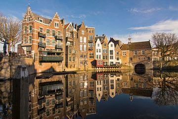De Aelbrechtskolk in Delfshaven, Rotterdam van Charlene van Koesveld