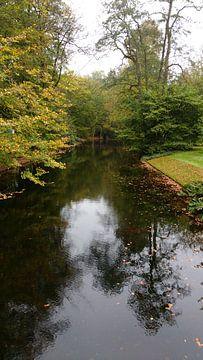 Herfst op landgoed de Vanenburg van Wilbert Van Veldhuizen