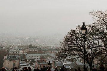 Uitzicht op Parijs vanaf Montmartre | Kleurrijke reisfotografie van Trix Leeflang