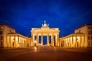 Brandenburg Gate before Sunrise