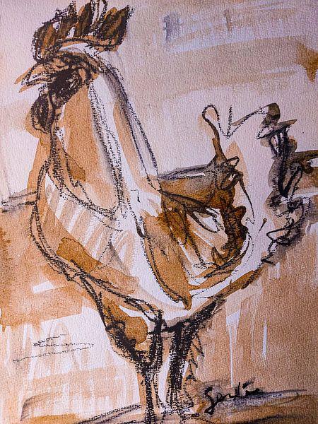 Kip, haantje (I) van Liesbeth Serlie