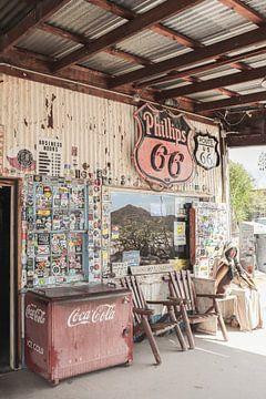 Oude Tankshop - Route 66 Arizona van Henrike Schenk
