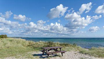 Rastplatz an der Küste,Insel Fehmarn,Ostsee von Peter Eckert