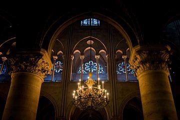 De ramen van de Notre-Dame van Damien Franscoise