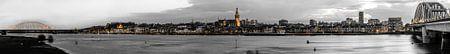 Nijmegen Skyline with Yellow Lights