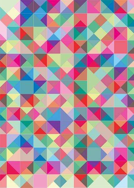 Summer Blocks & Colours van Carla van Dulmen